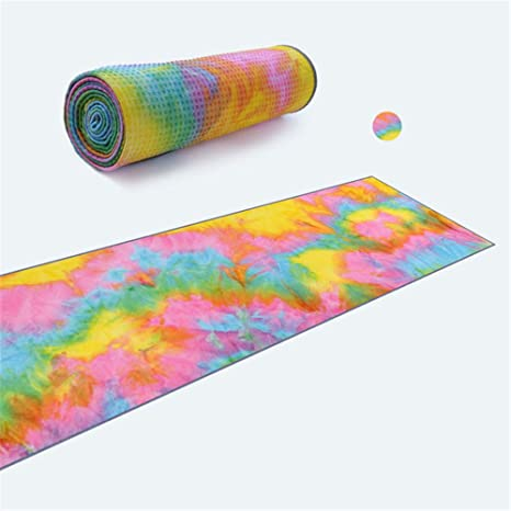 wordeye Toalla de Yoga Antideslizante de Resina para Yoga y ...