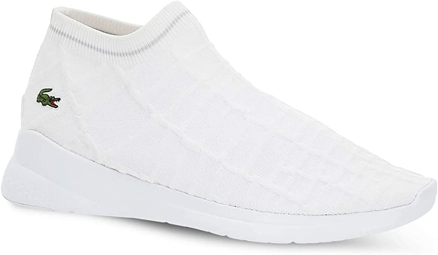 Lacoste Lt Fit Sock Trainers White 7 UK
