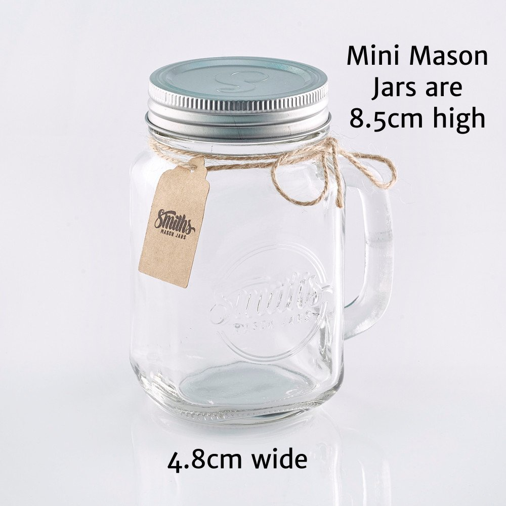 Smiths Mason Jars Mini Mason Jar Shot Glasses set of 6 Shot glasses ...