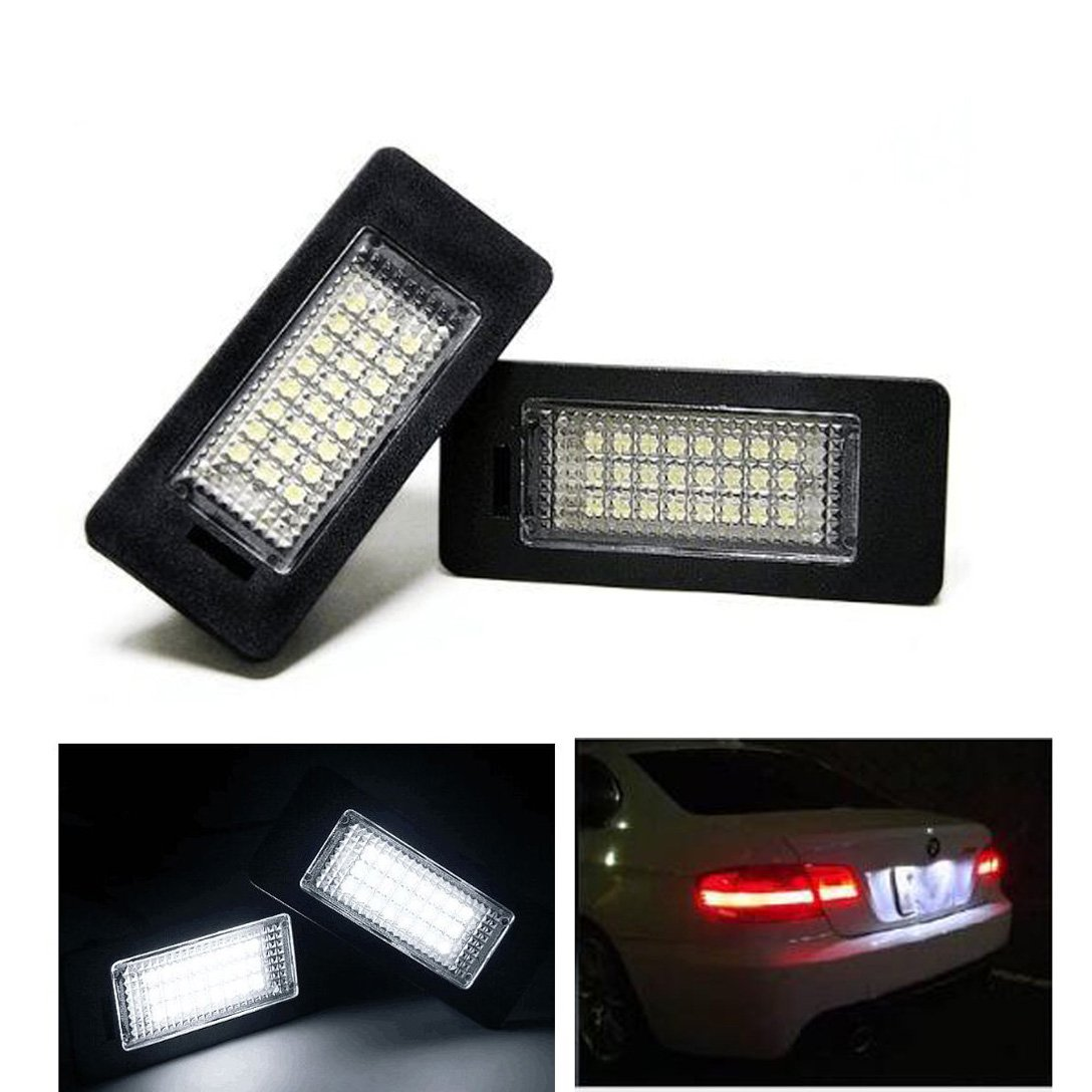 24-SMD Error Free LED License Plate Light Lamps
