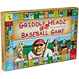 Griddly Games F6000293 Headz Baseball Family Fun Strategy Game