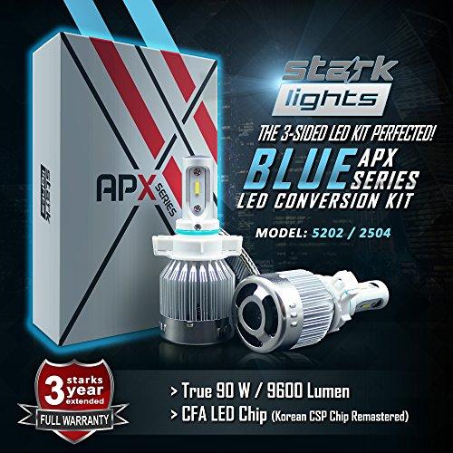 led 5202 fog lights 8000k - 4