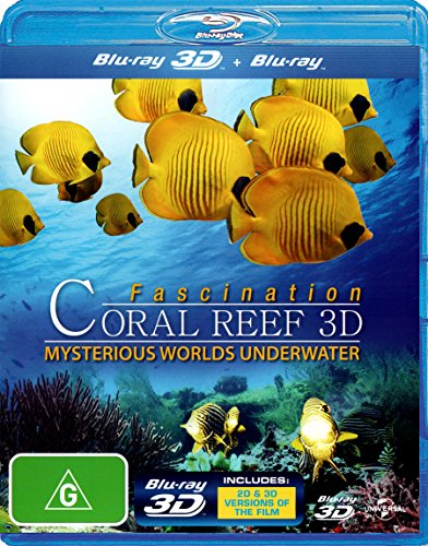 Fascination Coral Reef 3D Mysterious Worlds Under Water | Documentary | NON-USA Format | Region B Import - Australia