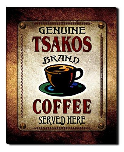Tsakoss Coffee Gallery Wrapped Canvas Print