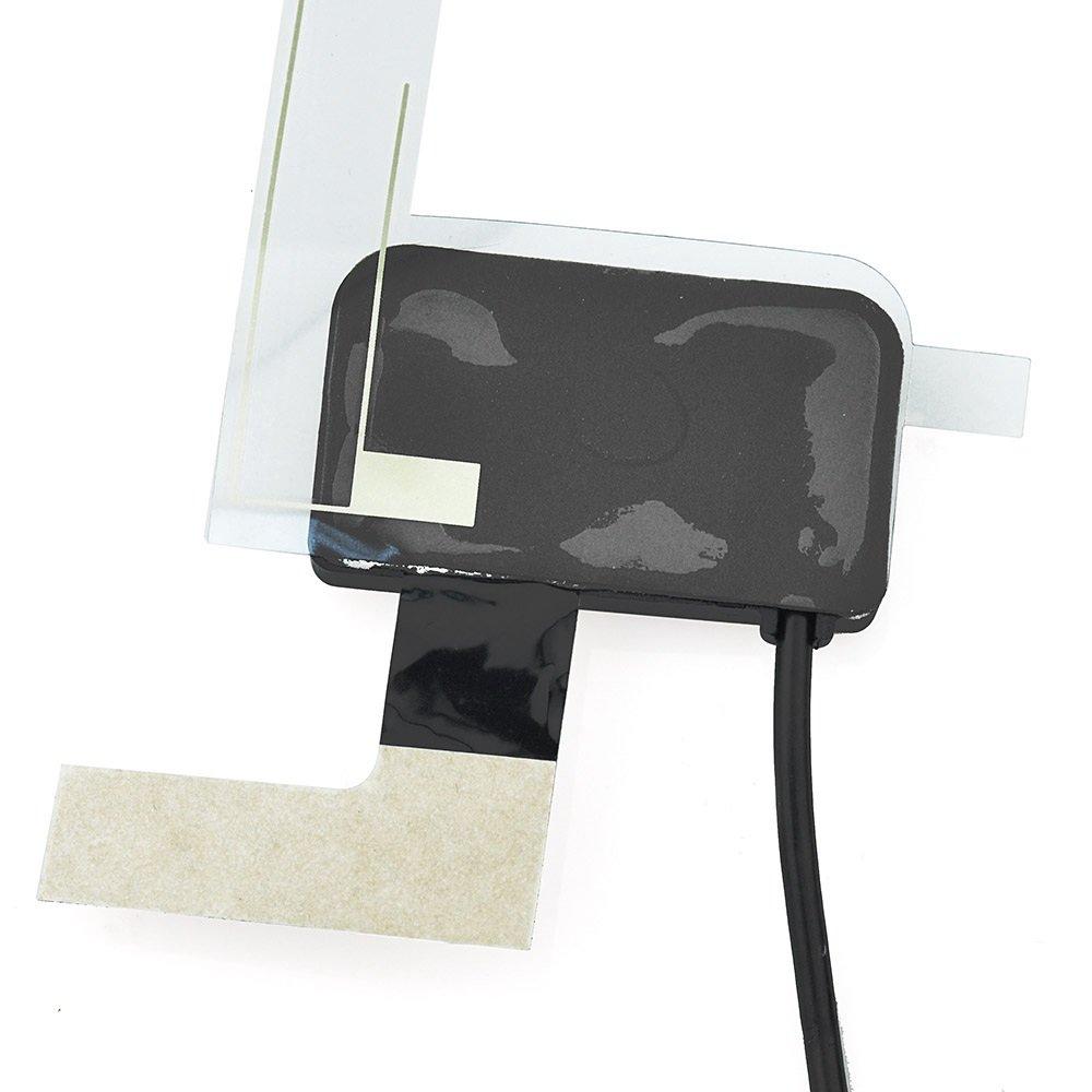 Antenne Fakra Adapter DAB Autoantenne Glass Mount Fakra A Buchse Black mit 3m 9.8ft Fakra Verl/ängerung Kabel MEHRWEG Eightwood DAB