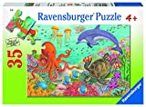 Ravensburger Ocean Friends 35 Piece Jigsaw Puzzle for Kids – Every Piece is Unique, Pieces Fit Together Perfectly