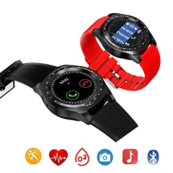 HCWF Smart Watch Round Fitness Women Smartwatch Soporte Android ...