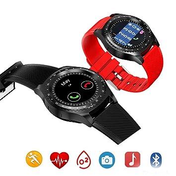 HCWF Smart Watch Round Fitness Women Smartwatch Soporte ...