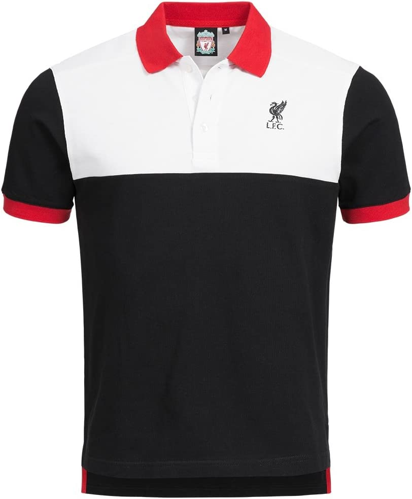 Liverpool FC Majestic Hombre de Polo Camiseta Cut and Sew ...
