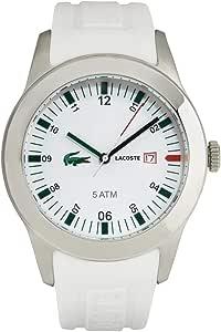 لاكوست ساعة رياضية للرجال انالوج بعقارب سيليكون - S-0129