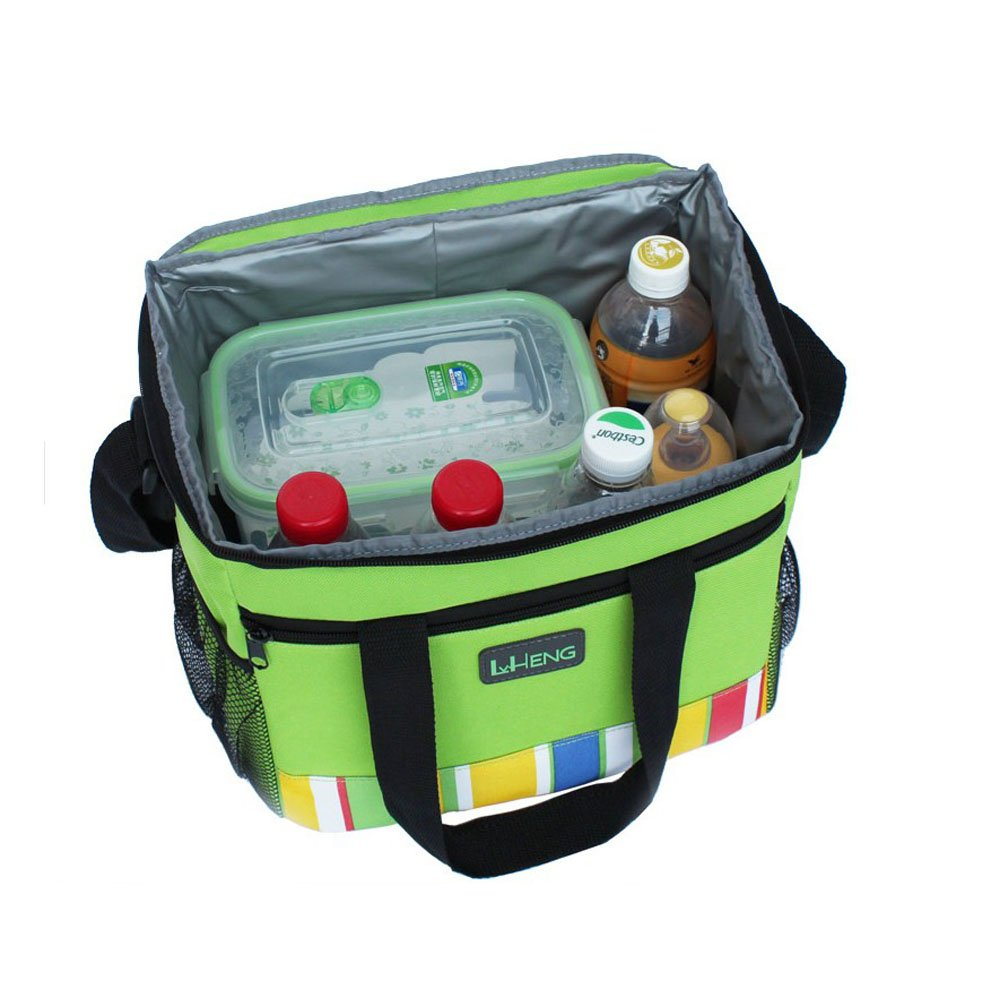 PANDA SUPERSTORE Insulated Zippered Hot /& Cold Cooler Tote Mobile Cooler//Lunch Box 27.52025CM