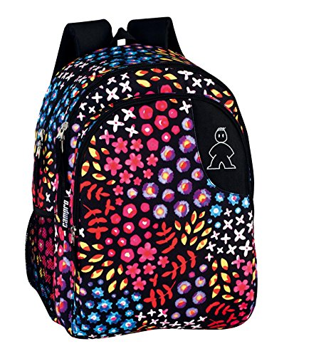 Casual liters Multicolored cm Negro Perona 1 Floral 40 Daypack zFxvzY5q