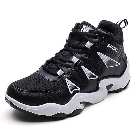 Unisexe Couple Basketball Chaussures Baskets Haut-Bas Formateurs En Plein  Air Chaussures De Sport Durables dd3190bc04fb