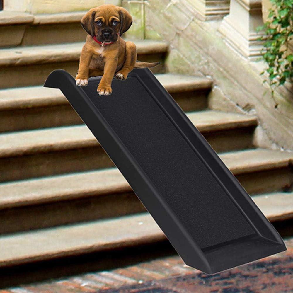 TFACR Rampa portátil para Perros/Gatos - Escalera para Mascotas con Superficie Antideslizante, Rampa para Mascotas para el Viaje montado en el automóvil/Cama doméstica: Amazon.es: Hogar