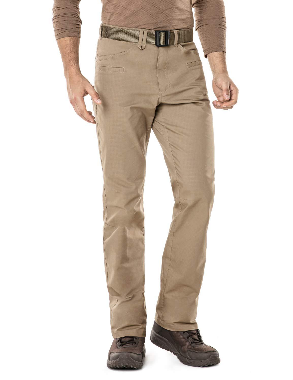 CQR Mens Flex Stretch Tactical Work Outdoor Operator Rip-Stop Trouser Pants EDC