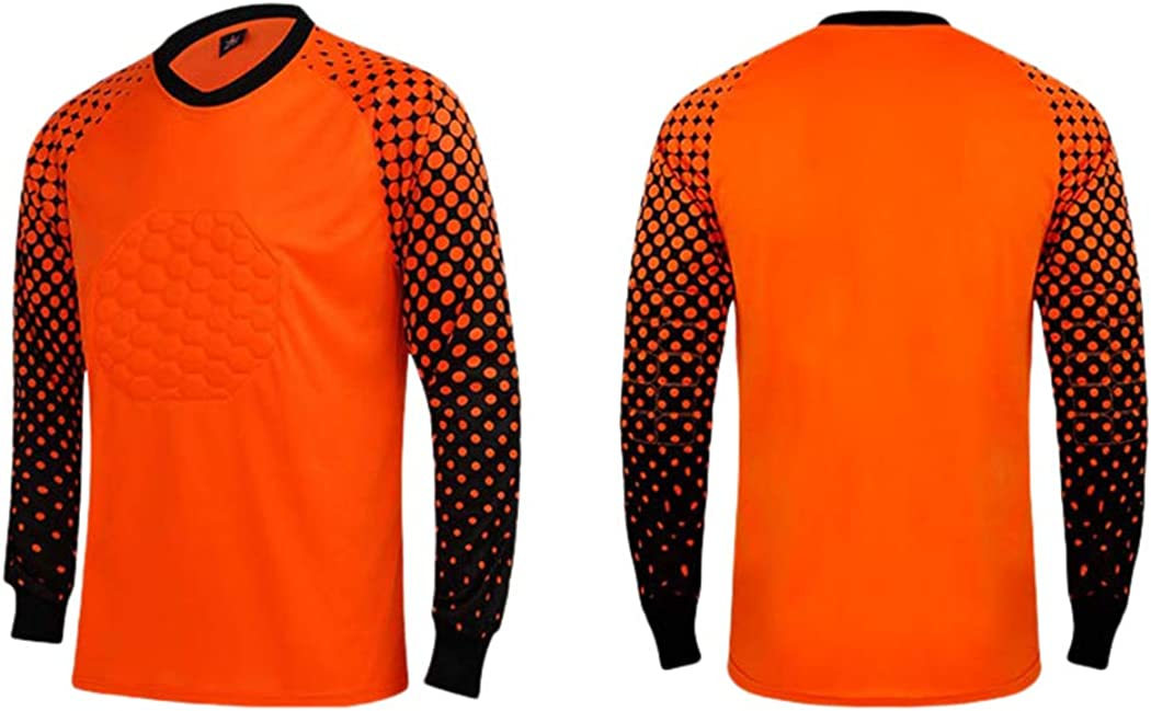 CATERTO Mens Football Goalkeeper Foam Padded Jersey Shirt /& Pants//Shorts