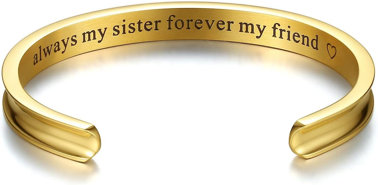 Amazon.com: Milamiya Always My Sister Forever My Friend ...