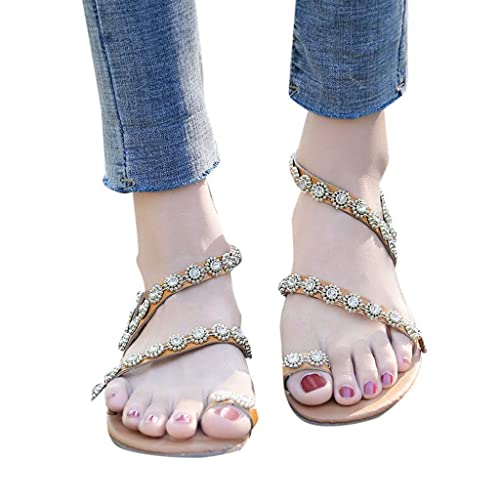 Sandalias Doradas 2019 Doradas Mujer sandalias Verano Tacon 4L3jAR5q