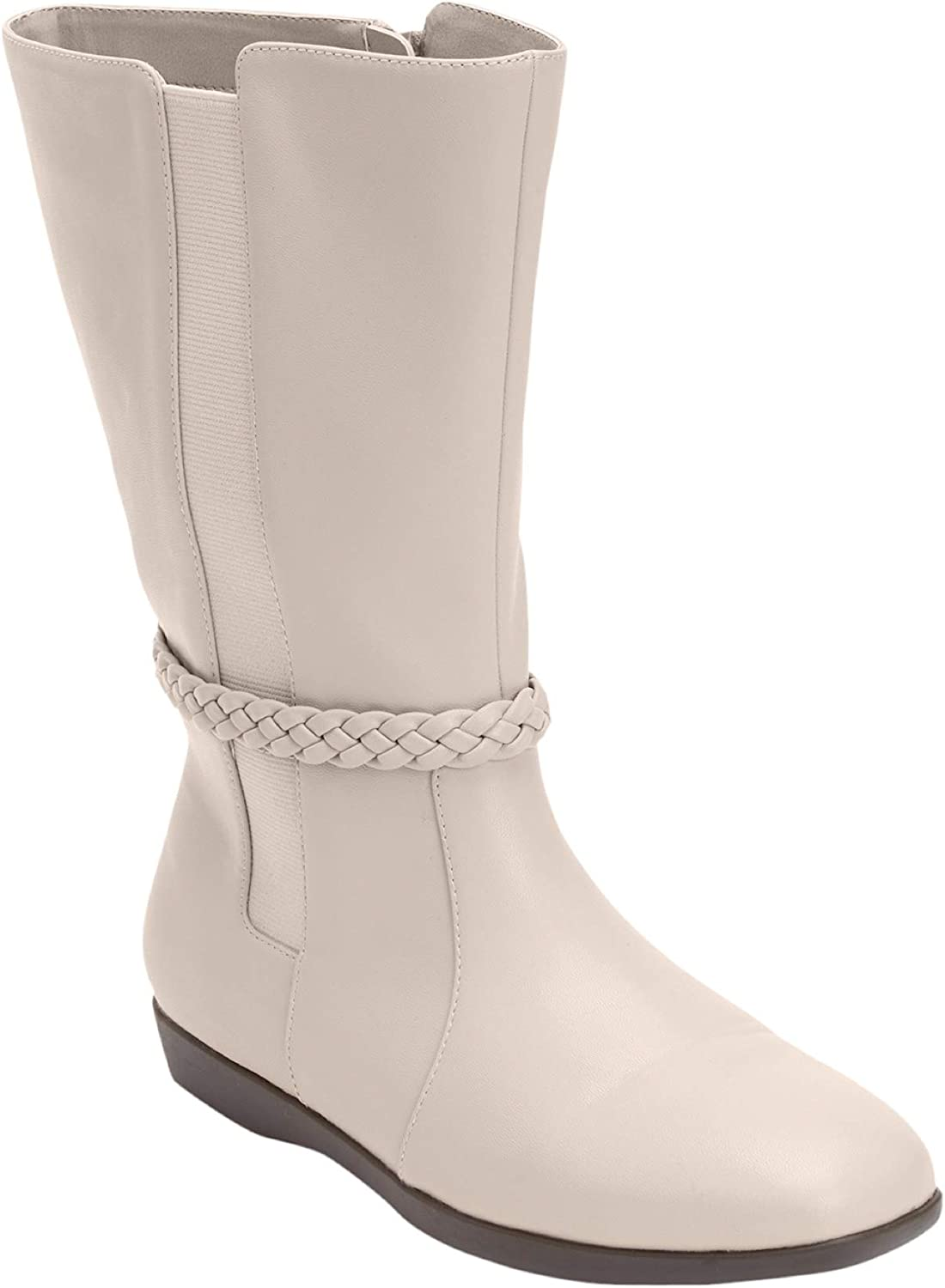 Comfortview Women's Wide Width The Nova Wide Calf Boot By