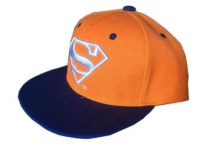 538f4c23384 Ambiel Children Unisex Superhero Superman Adjustable Snapback Caps Baseball  Sun Hats (Blue) at Amazon Men s Clothing store