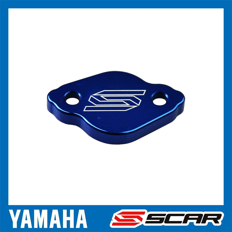 Bleu Couvercle maitre cylindre frein arri/ère YAMAHA YZ YZF WR WRF XT TRICKER SCAR