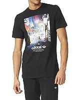 Adidas Street Photo Men's T-Shirt Black/Multi az1480