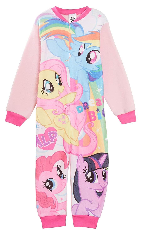 My Little Pony con Personaggi Pigiama Intero in Pile per Bambine