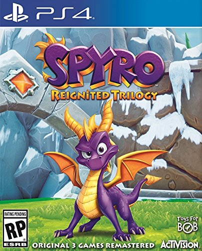 Video Games : Spyro Reignited Trilogy - PS4 [Digital Code]