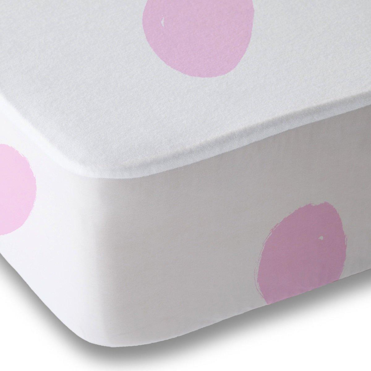 Pink Polka Dot 2 Pack Pink Crib Sheets 2 Soft Microfiber By Where The Polka Dots Roam