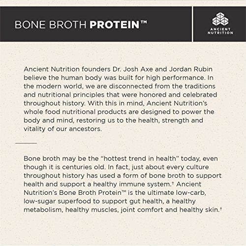 bone broth nutrition benefits nutrition ancient nutrition bone broth protein pure flavor 40