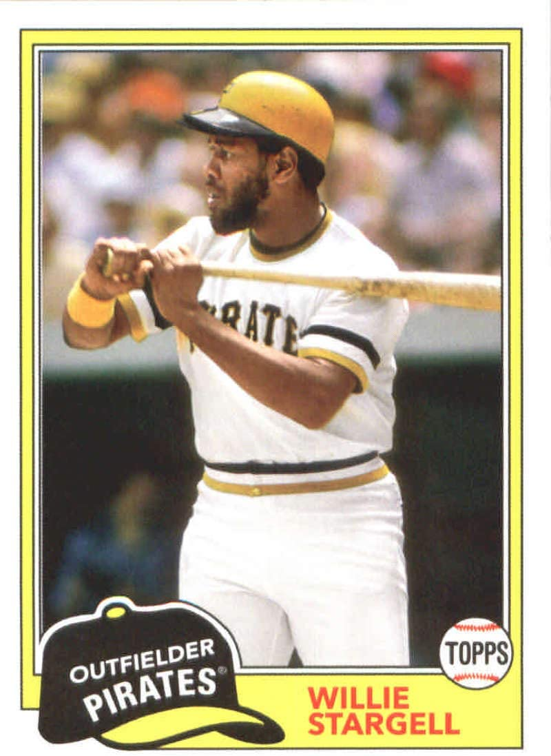 Amazon.com: 2018 Topps Archives #297 Willie Stargell Pittsburgh Pirates  Baseball Card: Collectibles & Fine Art