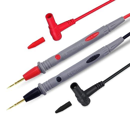 60VDC Len 0.7 M 2x Test Lead Set de Test Leads urated