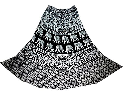 Cotton Falda Hippy Indian Skirt Midi Mnj Women Jupe Rock Gyp
