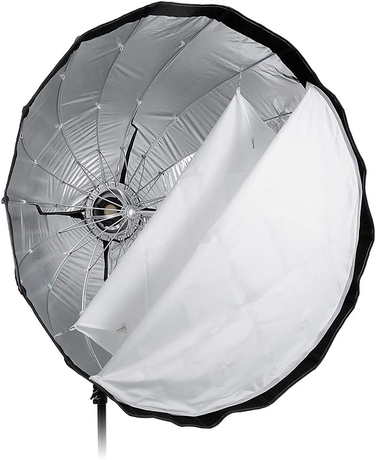 90cm Fotodiox EZ-Pro Deep Parabolic Softbox 36in Quick Collapsible Softbox with Profoto Speedring for Profoto and Compatible