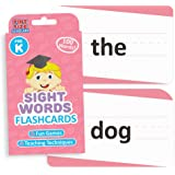 Sight Words Flashcards for Reading Readiness