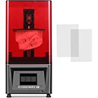 ELEGOO Mars 2 Pro Mono MSLA 3D Printer UV Photocuring LCD Resin 3D Printer with 6 inch 2K Monochrome LCD, Printing Size…