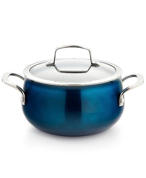 Amazon com: Belgique 3-Quart Nonstick Aluminum Soup Pot with