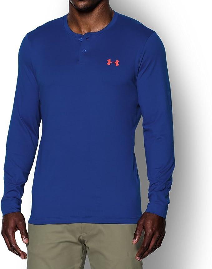 Under Armour Mens Coldgear Infrared Henley Shirt