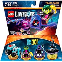 Warner Bros Lego Dimensions Teen Titans Go Team Pack