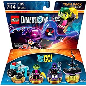 lego dimensions teen titans go team pack [object object]