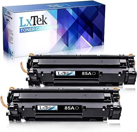 LxTek Compatible Reemplazo para HP CE285A 85A Cartuchos de tóner ...