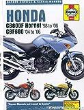 H3915 Honda CB600F Hornet Motorcycle Service Manual 1998-2006
