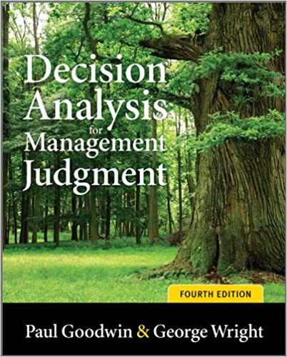 Amazon decision analysis for management judgment ebook paul decision analysis for management judgment 4th edition kindle edition fandeluxe Image collections