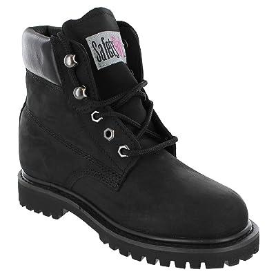 Safety Girl II Steel Toe Work Boots - Black: Industrial & Scientific