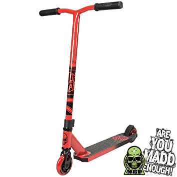 Madd Gear Kick Pro - Patinete (rojo/negro): Amazon.es ...