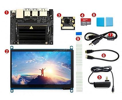 Amazon com: [Package C] NVIDIA Jetson Nano Developer Kit AI