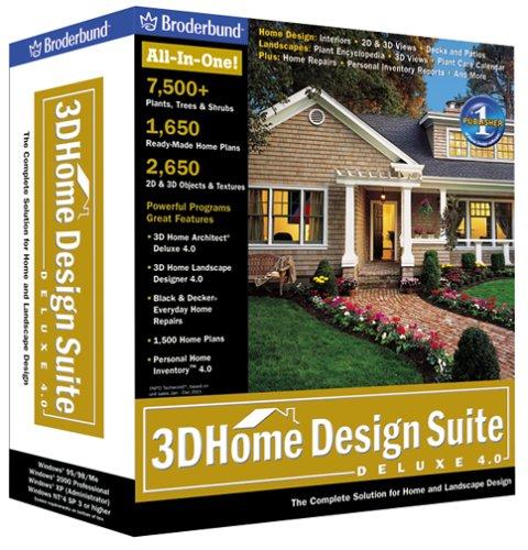 Amazon.com: 3D Home Design Suite Deluxe 4.0