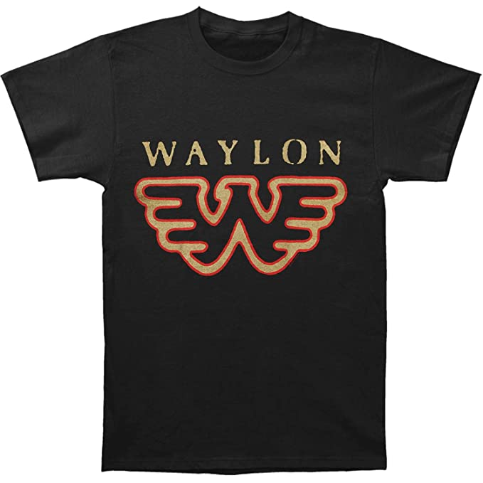 77b3901b Amazon.com: Waylon Jennings- Flying W T-Shirt Size XXL: Clothing