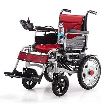 Amazon.com: Silla de ruedas eléctrica plegable, ligera, 75.0 ...