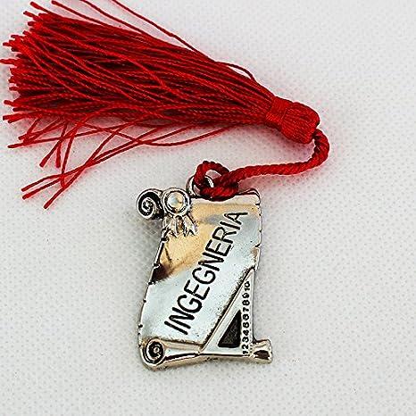 DLM24614 Bomboniere Pergamena Laurea in Ingegneria metallo argentato (kit  24 pezzi) bomboniera 23f03b45397c